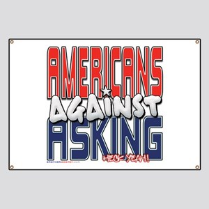Americans Against Asking [SWA Banner